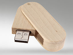 Memoria usb madera