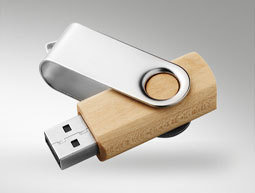 USB MADERA METAL MIX
