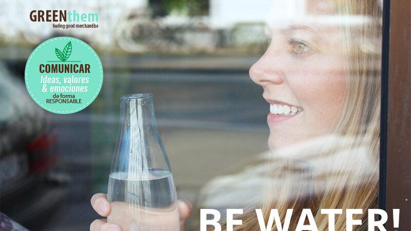 BEWATER - GREENthem Botellas de agua