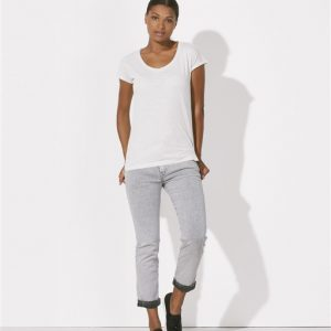 Camiseta algodón orgánico para mujer