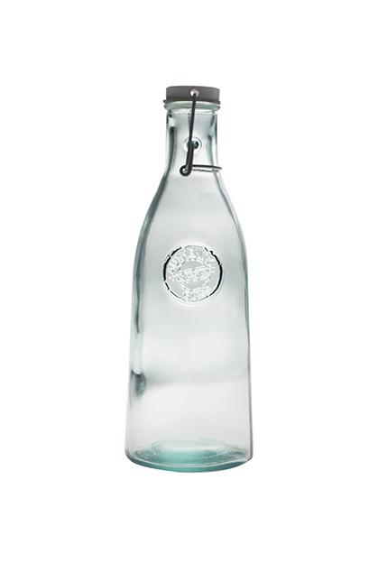 Botella vidrio reciclado 1L
