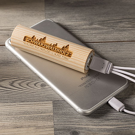 Power Bank Madera Selva Negra