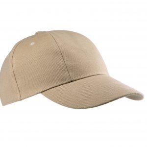 KP119Beige gorra algodon