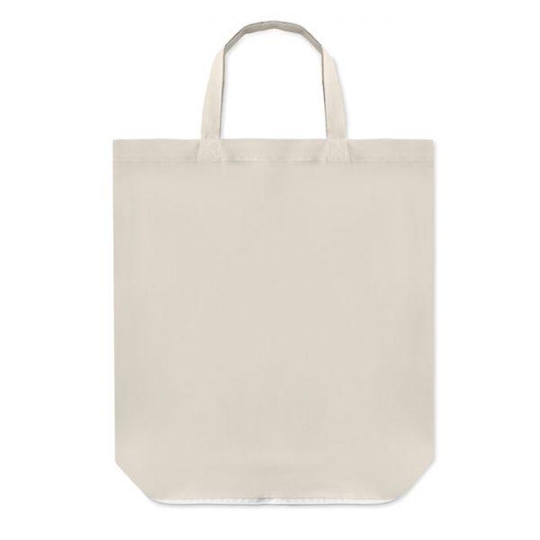 bolsa plegable de algodón