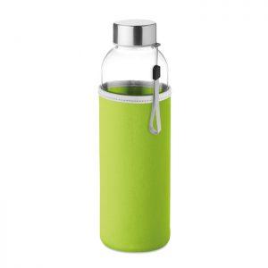 Botella reutilizable de cristal