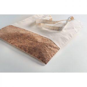 Bolsa algodón y corcho