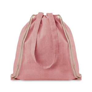 Bolsa mochila algodón reciclado