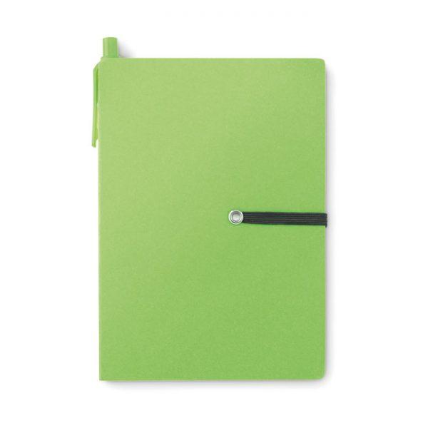 Bloc notas con bolígrafo