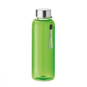 Botella de tritán 500 ml y tapa con cordón. SIN BPA