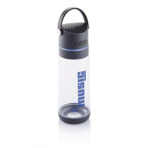 Botella altavoz Tritan